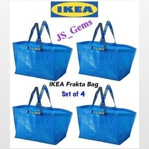 4 New Durable Reusable Frakta Large Bags Home